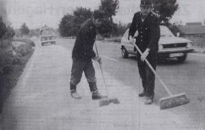 Beseitigung Ölspur, 1986
