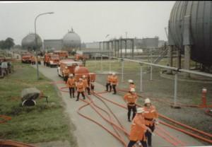 Übung BP Gemeindefeuerwehrtag, 1989
