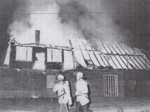 Bauernhaus brannte, 1990